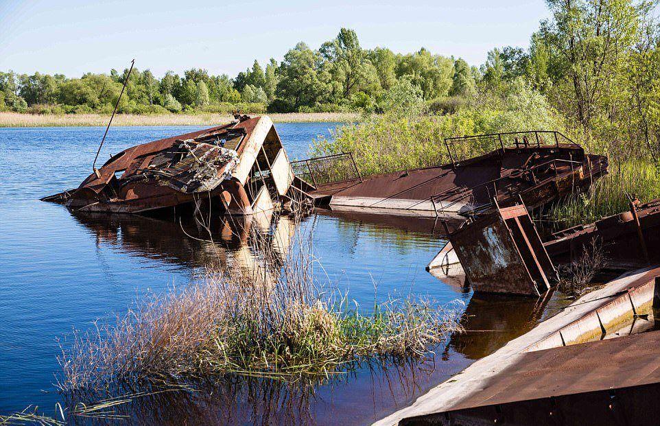 чернобыль после эвакуации