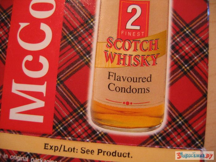 Scot condom joke