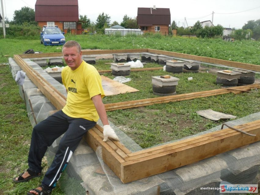Строить дом своими руками дёшева