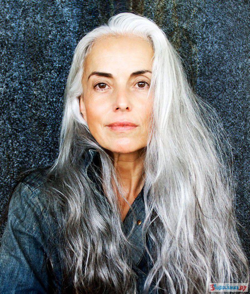 старая красивая женщина 6