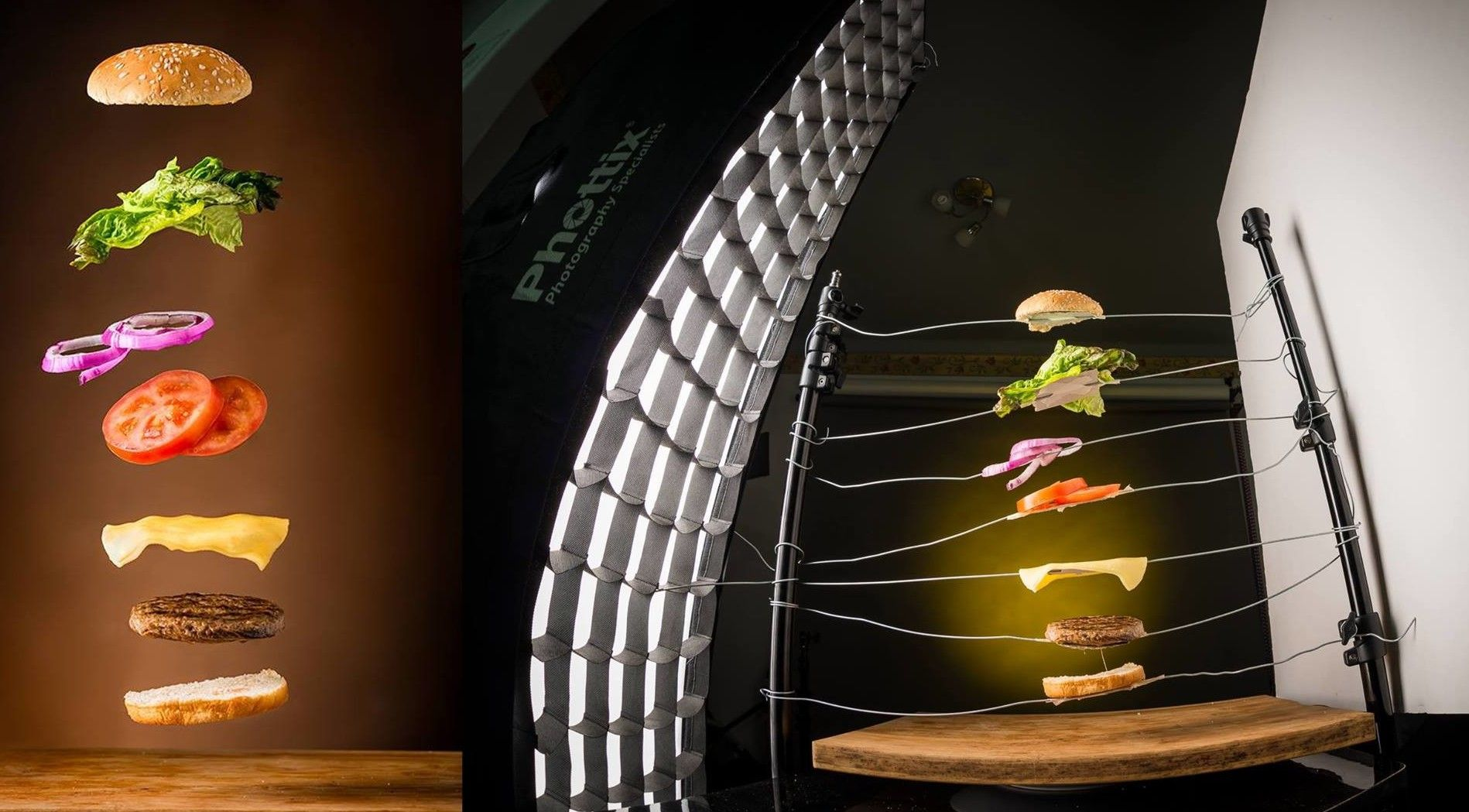фотосъемка еды для рекламы них его ботаническое