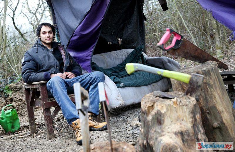 Мазанка своими руками в лесу