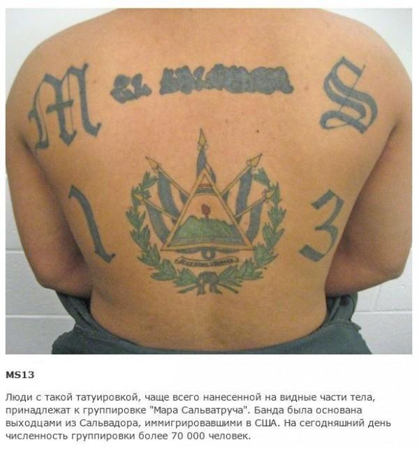 Тюремные наколки и их обозначение в картинках