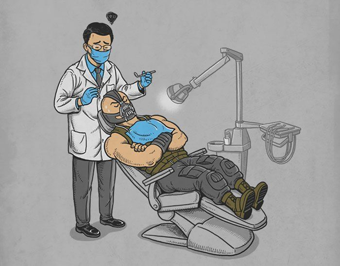 Прикольные картинки стоматологов рисованные, для