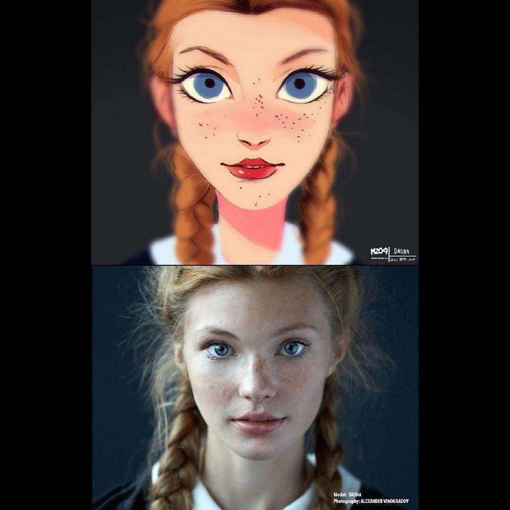 Как из фото сделать анимационного персонажа