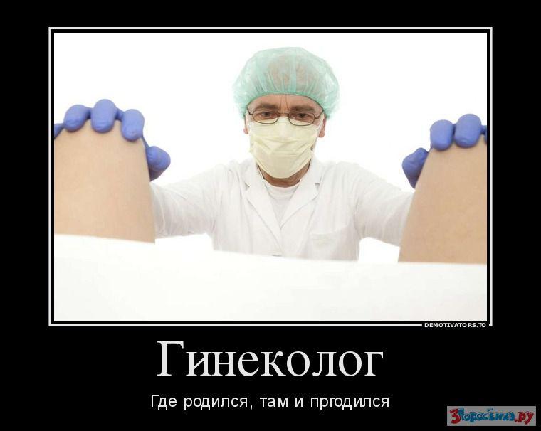 у веселого гинеколога