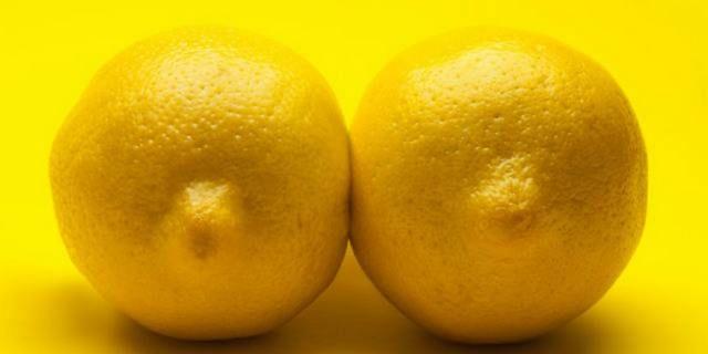 Фото груди лимончики с большыми сосками