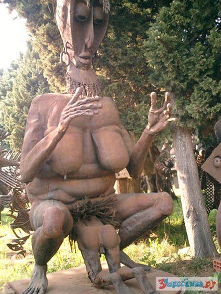 Скульптуры порно фото