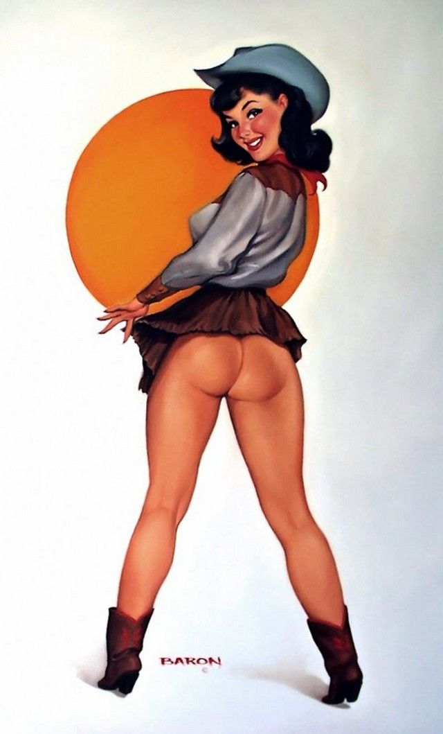 and-fuking-xxx-cowgirl-pin-up-girls