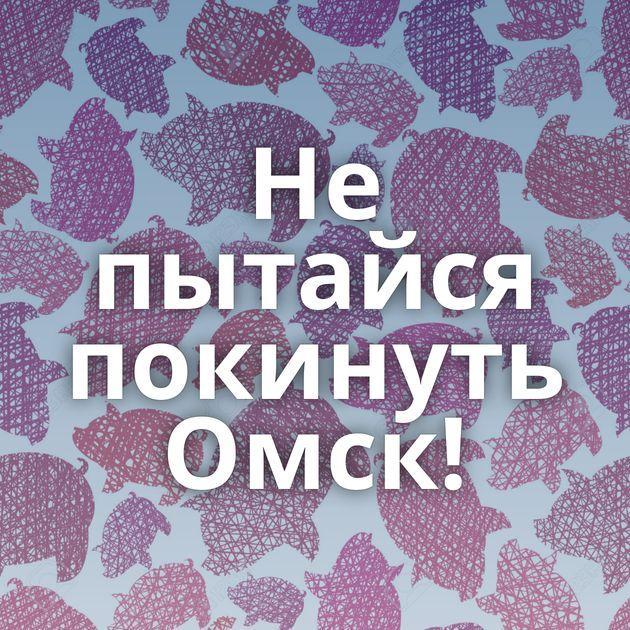Не пытайся покинуть Омск!