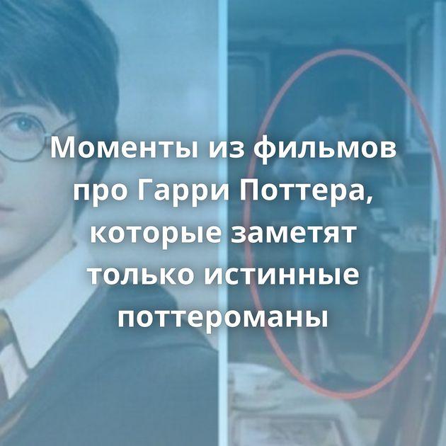 Моменты изфильмов проГарри Поттера, которые заметят только истинные поттероманы