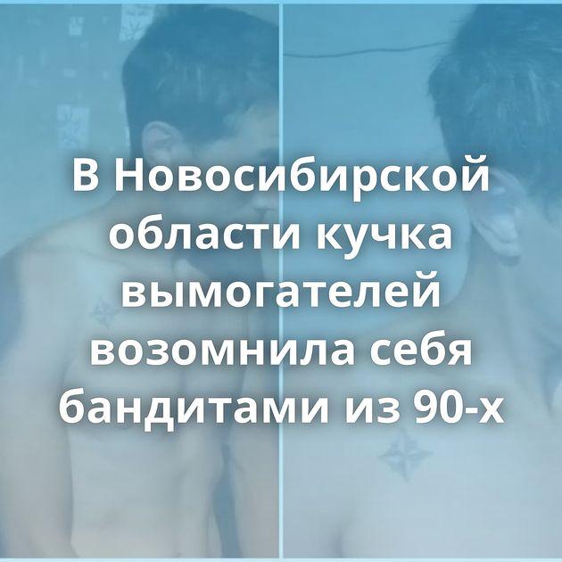 ВНовосибирской области кучка вымогателей возомнила себя бандитами из90-х