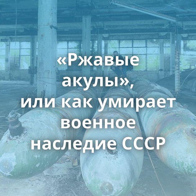 «Ржавые акулы», иликакумирает военное наследие СССР