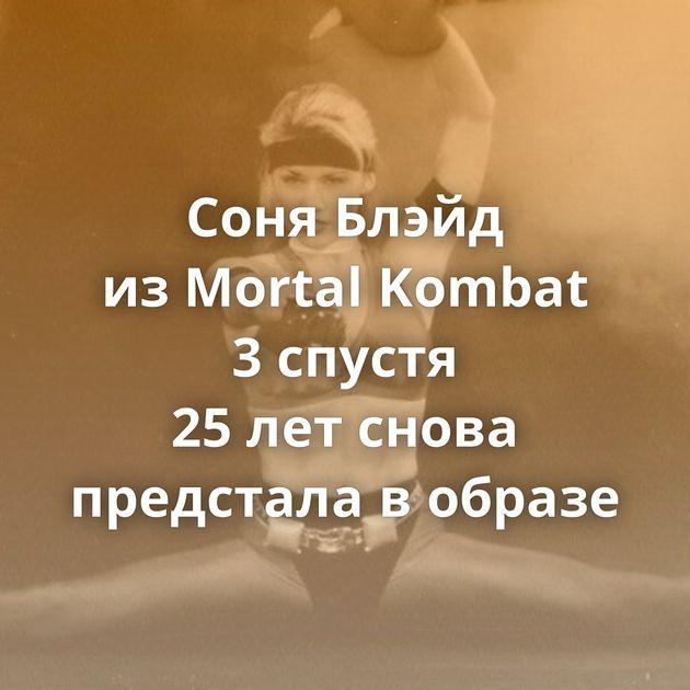 Соня Блэйд изMortal Kombat 3спустя 25летснова предстала вобразе