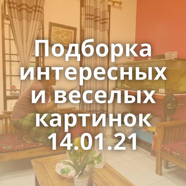 Подборка интересных и веселых картинок 14.01.21