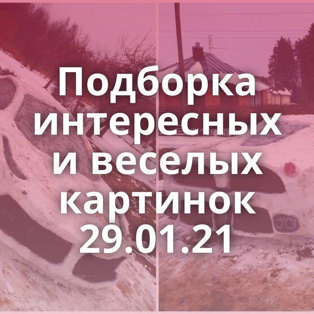 Подборка интересных и веселых картинок 29.01.21