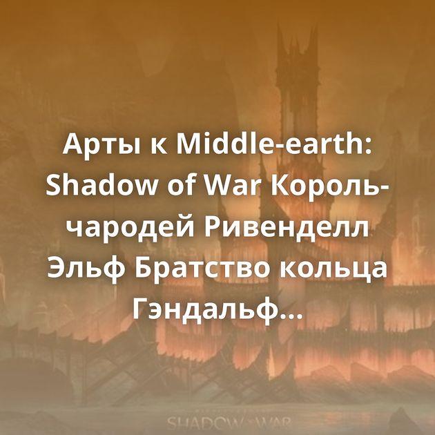 Арты кMiddle-earth: Shadow of War Король-чародей Ривенделл Эльф Братство кольца Гэндальф Белый Леди Золотого Леса…