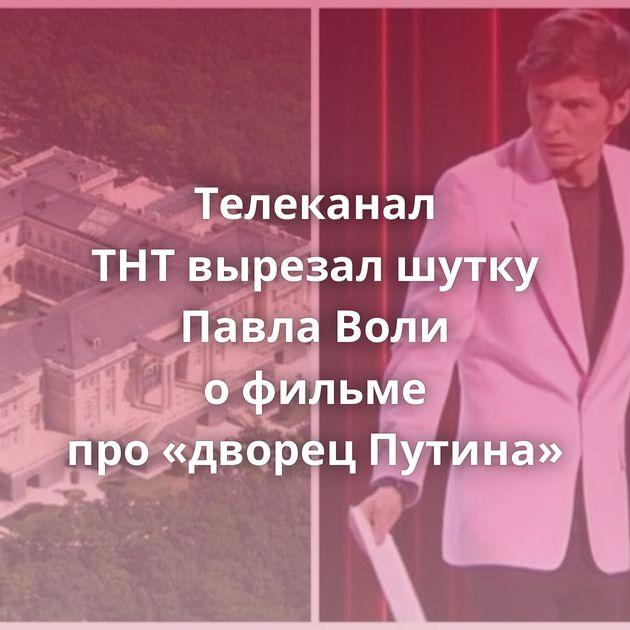 Телеканал ТНТвырезал шутку Павла Воли офильме про«дворец Путина»