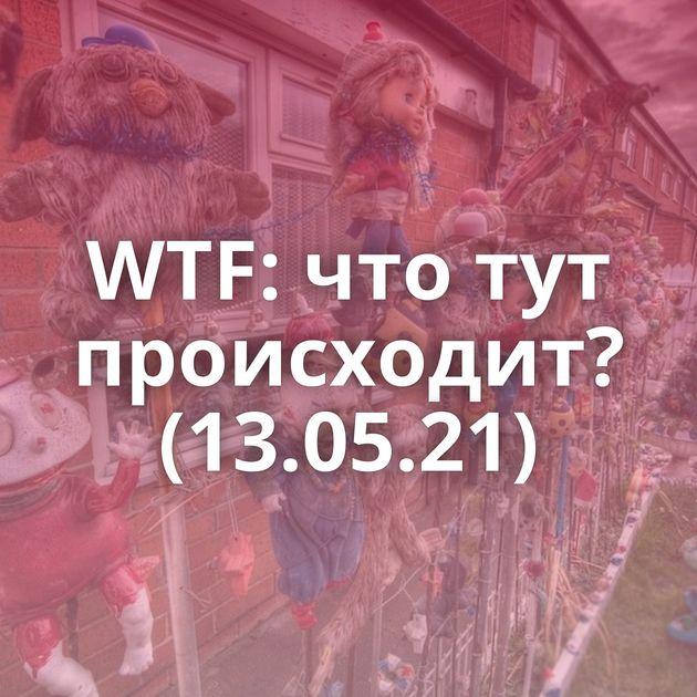 WTF: что тут происходит? (13.05.21)