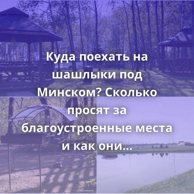 Куда поехать на шашлыки под Минском? Сколько просят за благоустроенные места и как они выглядят