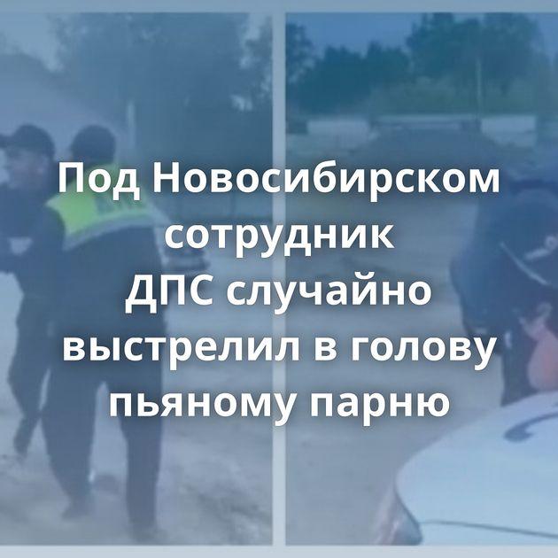 ПодНовосибирском сотрудник ДПСслучайно выстрелил вголову пьяному парню