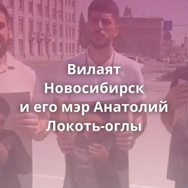 Вилаят Новосибирск иегомэрАнатолий Локоть-оглы