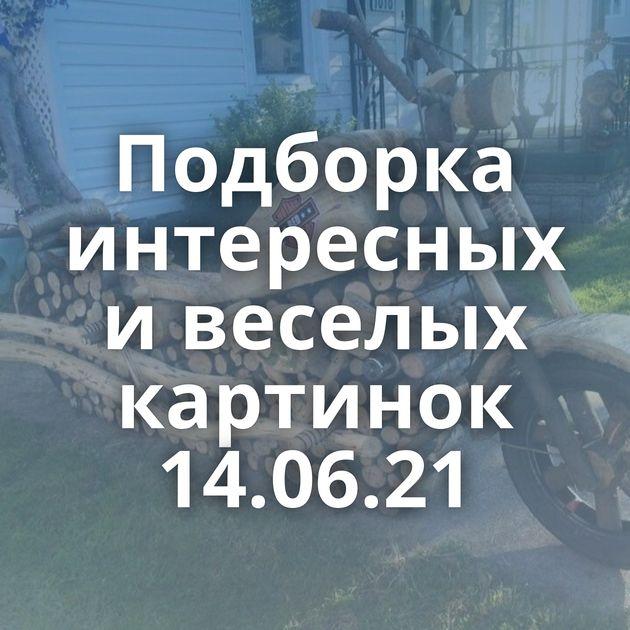 Подборка интересных и веселых картинок 14.06.21