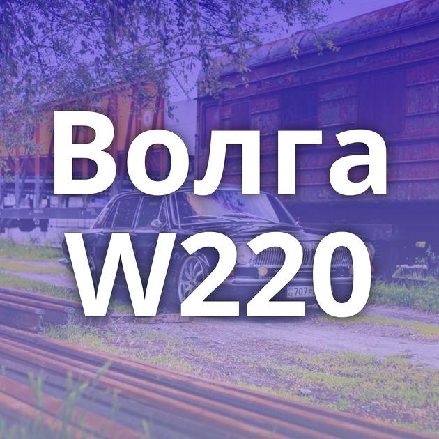 Волга W220