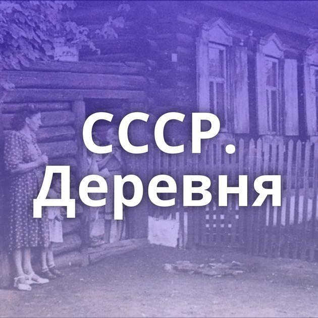 СССР. Деревня