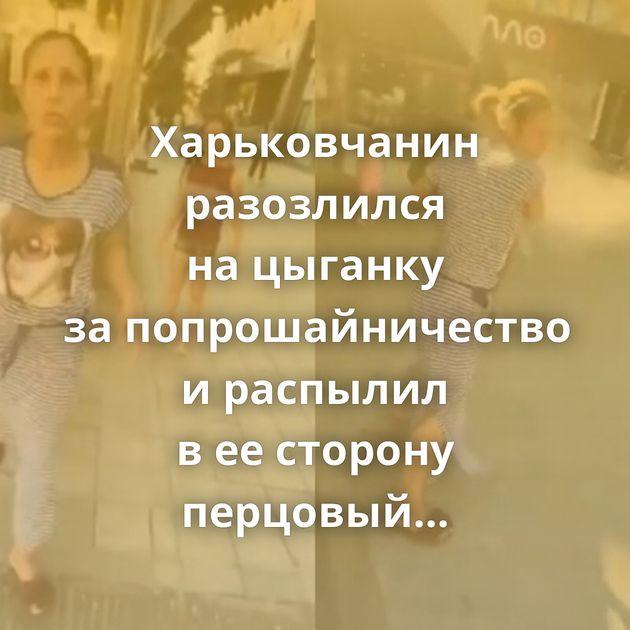 Харьковчанин разозлился нацыганку запопрошайничество ираспылил веесторону перцовый газ