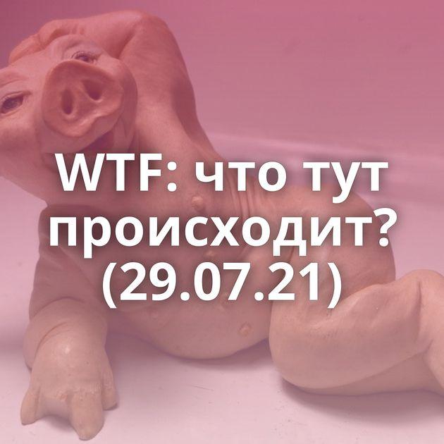 WTF: что тут происходит? (29.07.21)