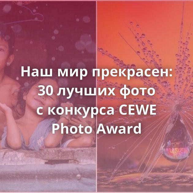 Нашмирпрекрасен: 30лучших фото сконкурса CEWE Photo Award