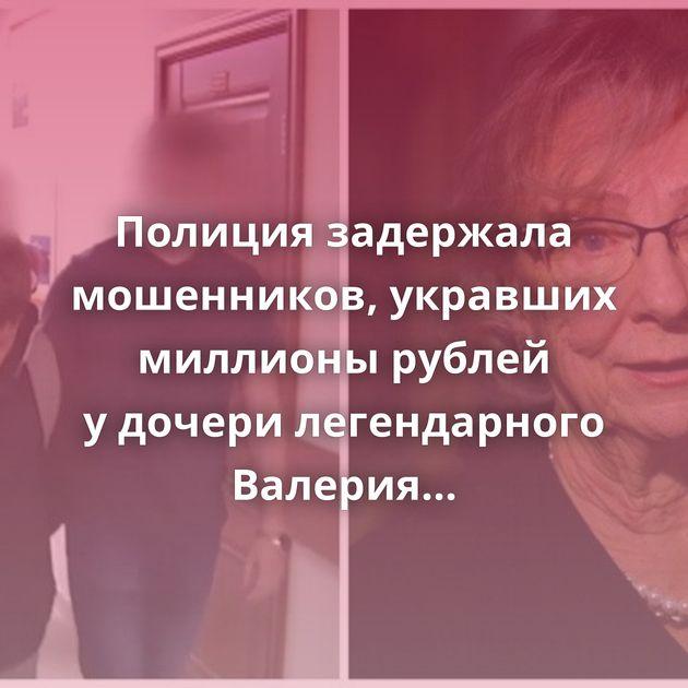 Полиция задержала мошенников, укравших миллионы рублей удочери легендарного Валерия Чкалова