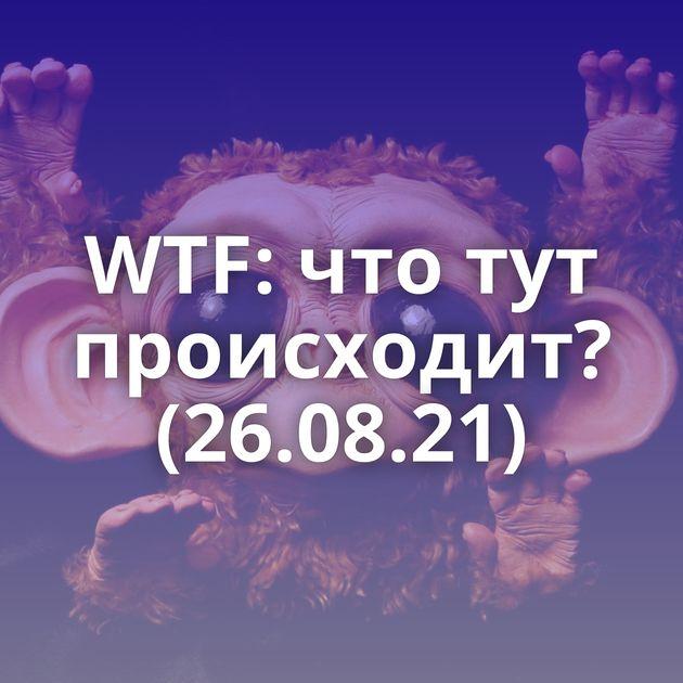 WTF: что тут происходит? (26.08.21)