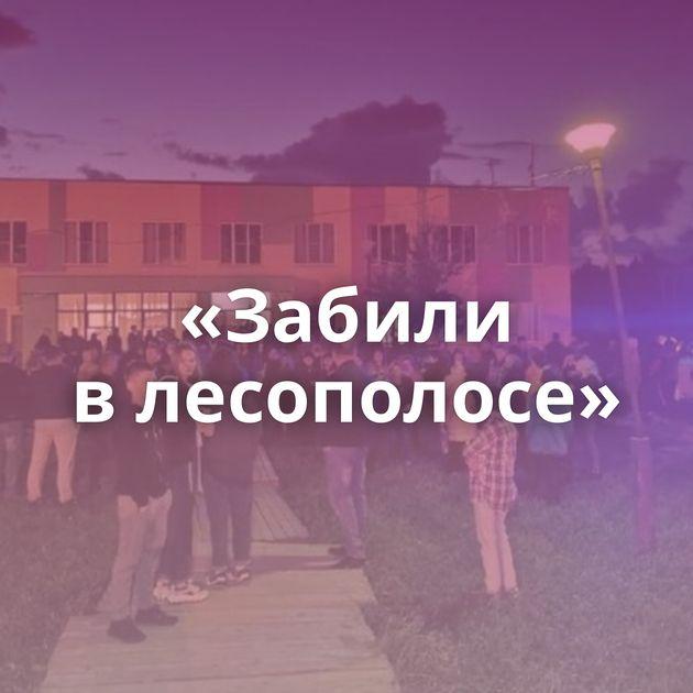 «Забили влесополосе»