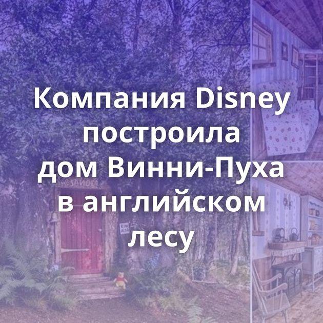 Компания Disney построила домВинни-Пуха ванглийском лесу