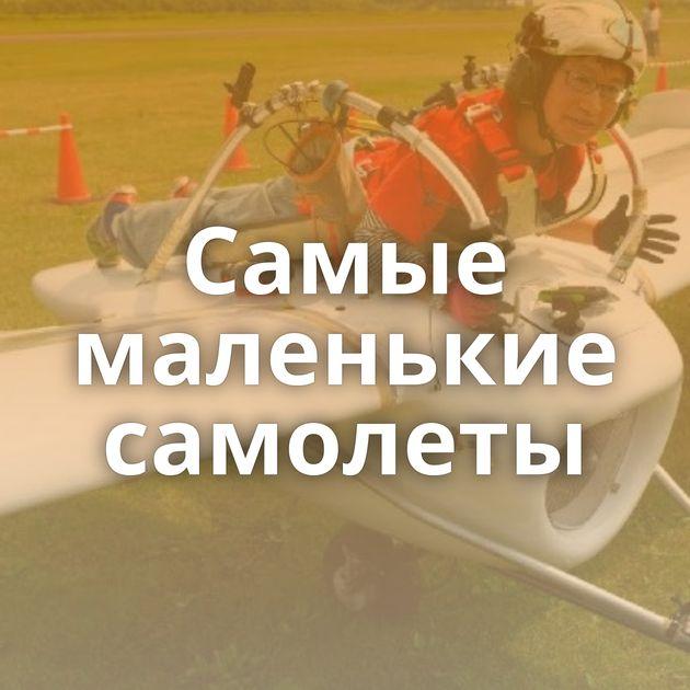 Самые маленькие самолеты