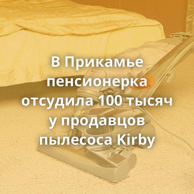 ВПрикамье пенсионерка отсудила 100тысяч упродавцов пылесоса Kirby
