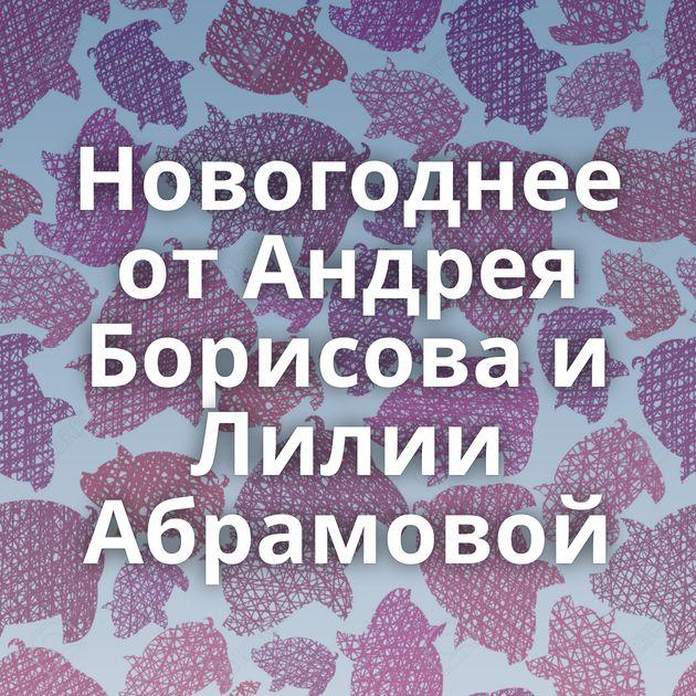 Новогоднее от Андрея Борисова и Лилии Абрамовой