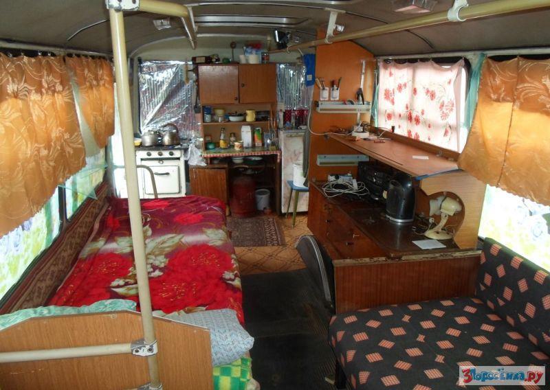 Автодом из автобусов видео