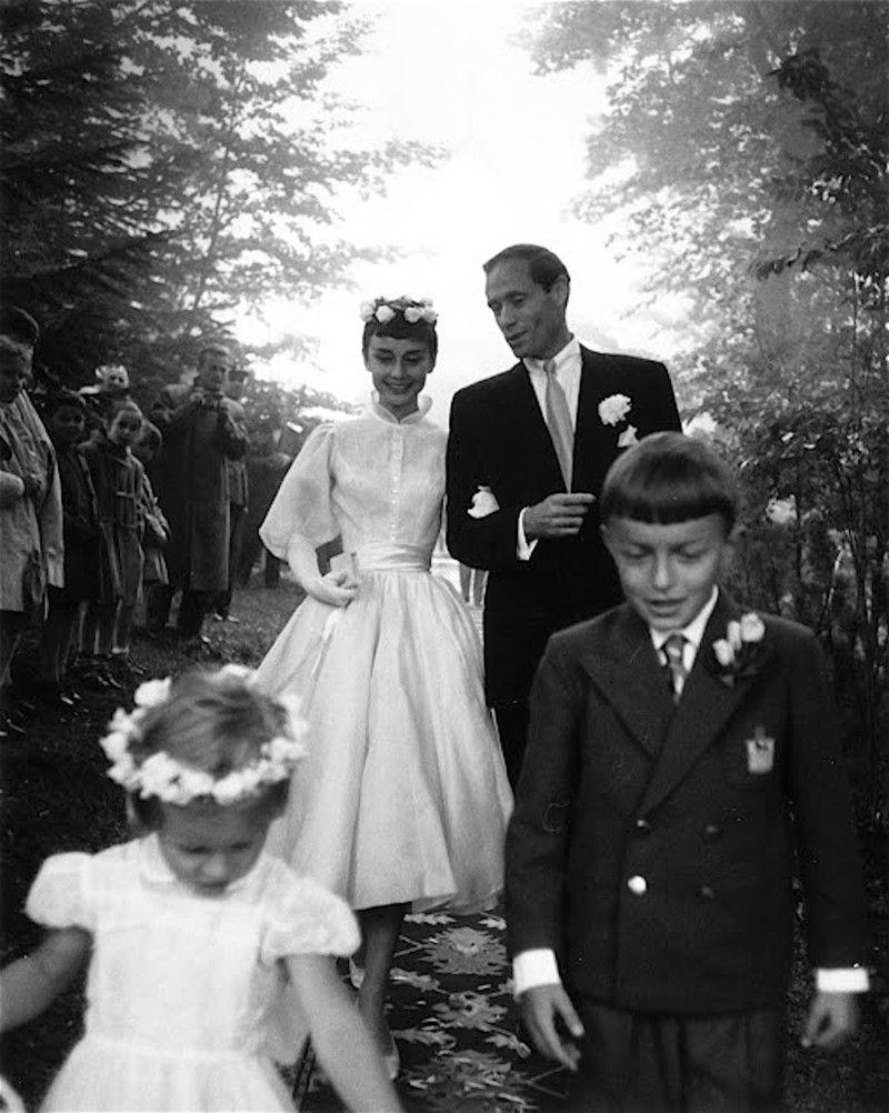 Свадебные платья одри хепберн фото