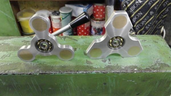 Спиннер желтый алюминиевый антистресс цена 263 90 грн купить в 1414601