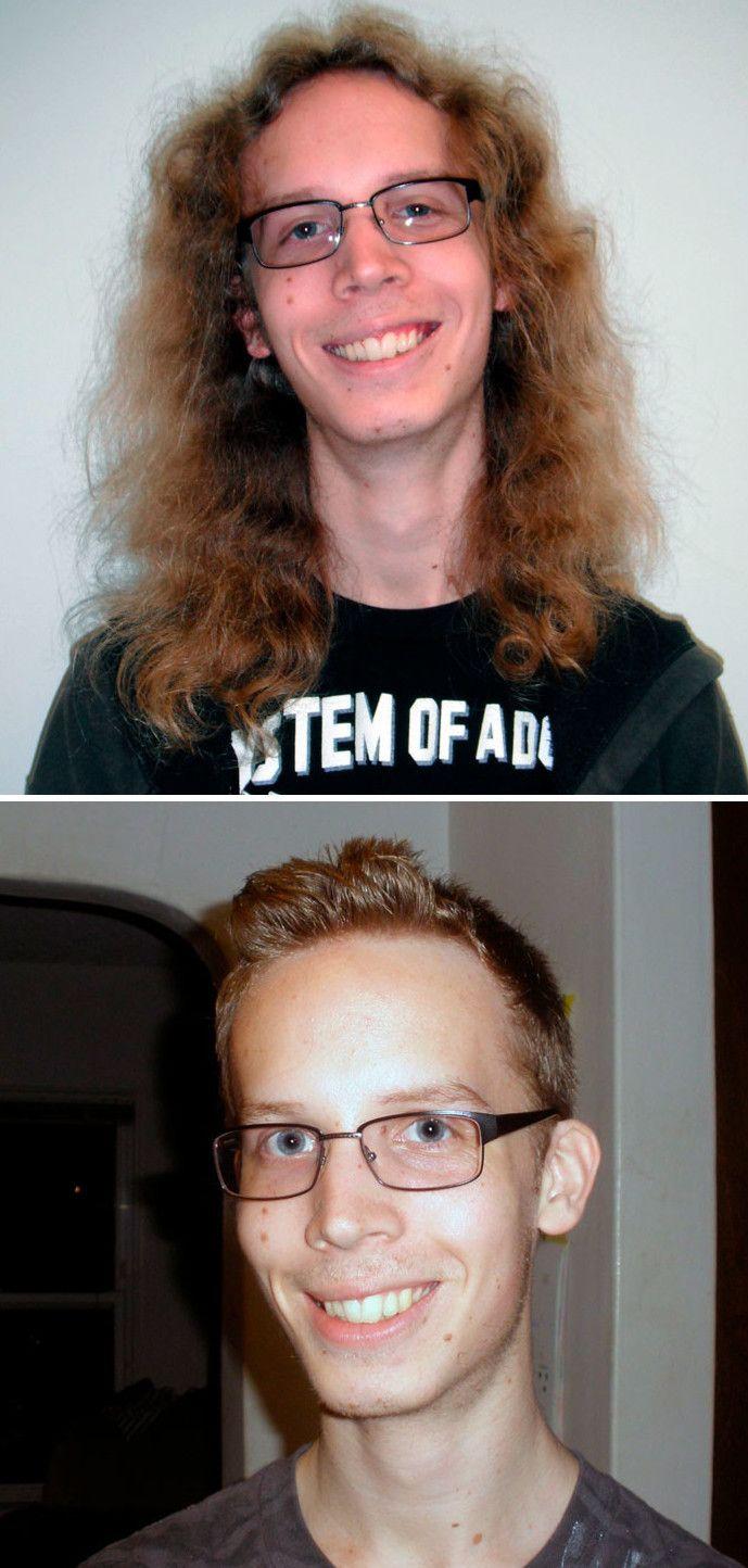 агат смена имиджа мужчины до и после фото слюни падлу читать