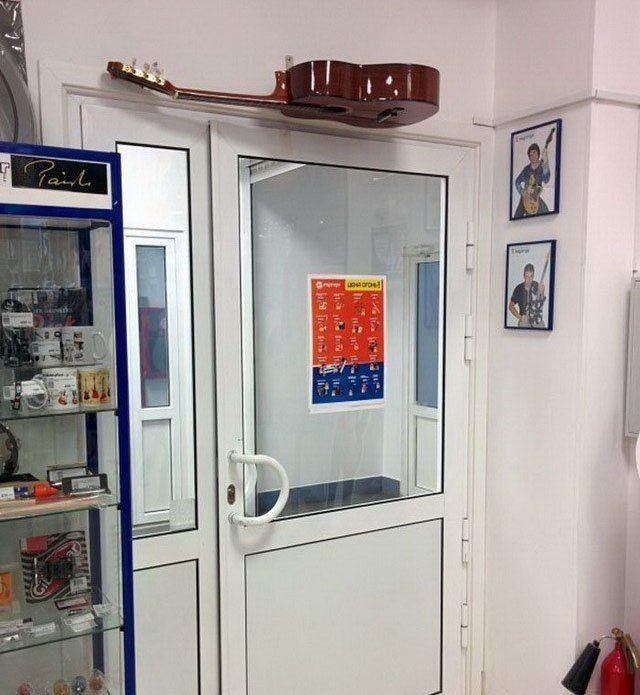 Прикольные картинки с дверью
