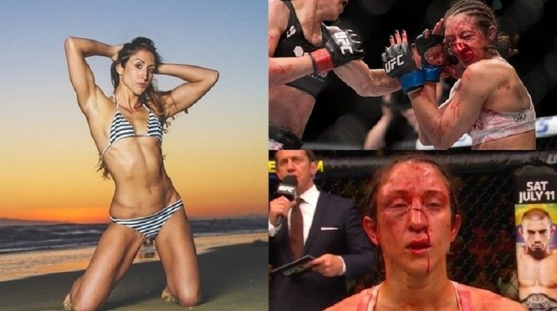 Секс боии женщин с мущинои на ринге