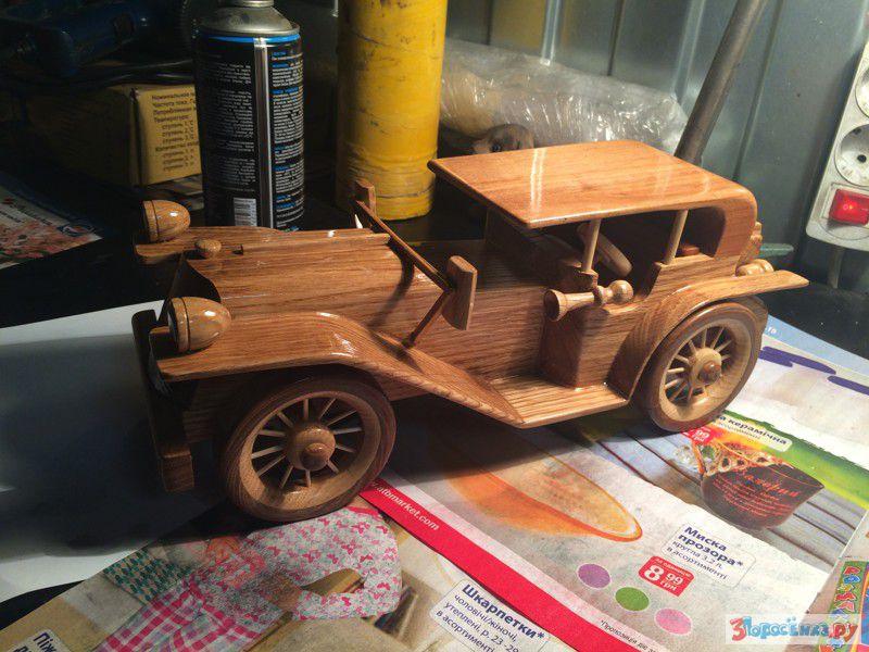 Модели деревянных автомобилей своими руками 50